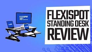 """FlexiSpot 35"""" Standing Desk Review"""
