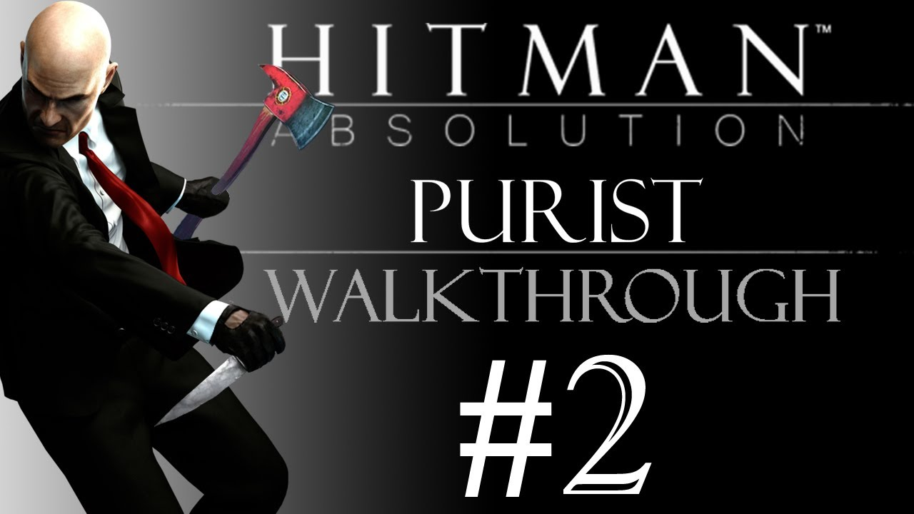 Hitman Absolution Greenhouse Purist Silent Suit Only Knife Only
