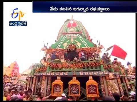 Thousands of devotees throng Puri to witness Jagannath Rath Yatra
