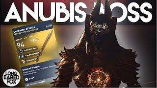Assassin's Creed Origins | HOW TO EASILY DEFEAT ANUBIS BOSS + LEGENDARY SWORD! - Trial of The Gods