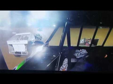 Mod LITE in car camera i-30 Speedway wreck