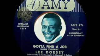 GOTTA FIND A JOB - Lee Dorsey