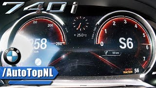 BMW 7 Series G11 740i ACCELERATION & TOP SPEED 0-260km/h by AutoTopNL