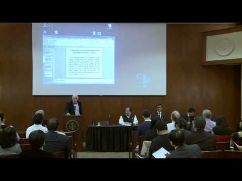 18th Annual Gelatt Dialogue, Part 1 - April 15, 2013