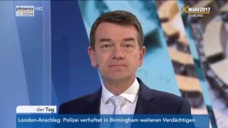 LTW Saarland: Jörg Schönenborn zum Ergebnis der Wahl am 26.03.2017