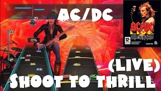 AC/DC - Shoot to Thrill (Live) - AC/DC Live: Rock Band Track Pack Expert Full Band