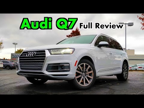 2019 Audi Q7: FULL REVIEW + DRIVE | A Few Changes to the Best-Driving Three-Row!