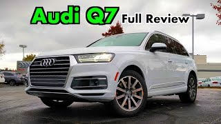 2019 Audi Q7: FULL REVIEW + DRIVE   A Few Changes to the Best-Driving Three-Row!