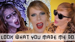 LOOK WHAT YOU MADE ME DO - Taylor Swift (cover by Eline Vera)