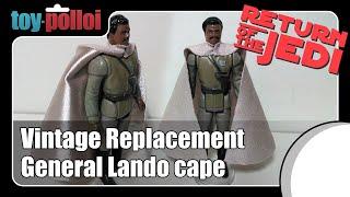 Reproduction Vinyl Capes Set of 5 Vintage Star Wars Action Figure Replica