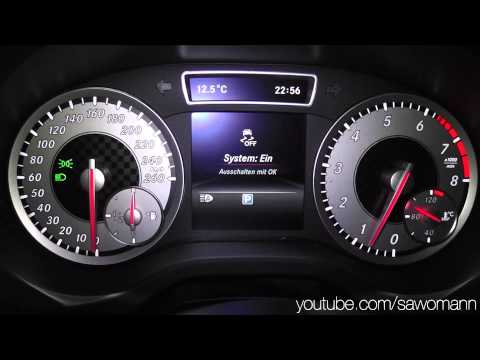 2014 Mercedes-Benz A 200 156 HP 0-100 km/h & 0-100 mph Acceleration GPS HD