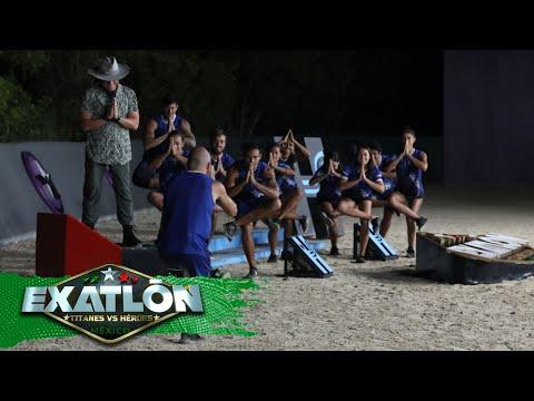 Patricio Razo es el séptimo eliminado de Exatlón, Titanes vs. Héroes.   Episodio 32   Exatlón México