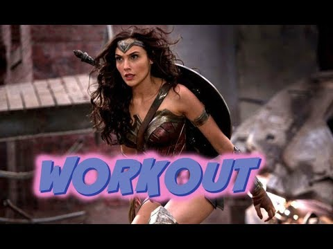 Download Wonder Woman Workout Video and Review | BuzzChomp Fitness
