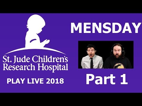 St. Jude Play Live | MENSday (part 1)