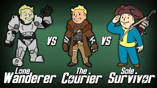 Lone Wanderer vs The Courier vs Sole Survivor - Who Wins? (Round 1)