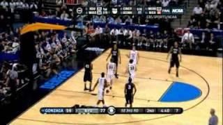 BYU Jimmer Fredette Scores 34 on Gonzaga for Sweet 16 ESPN