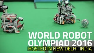 World Robot Olympiad 2016 India: Watch Robots Face Off Against Each Other