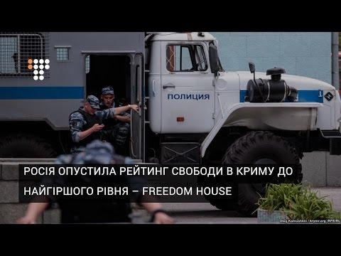 Росія опустила рейтинг свободи в Криму до найгіршого рівня – Freedom House