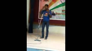 most inspirational hindi speech ever on independence day(15 august) by Krishan singh Rathore jodhpur