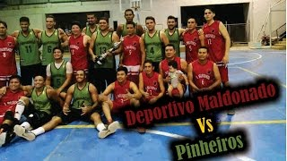 MARCAS: Deporte - Basquet - Club Deportivo Maldonado Vs Pinheiros