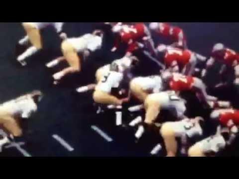Ohio State vs Michigan 1972 goal line plays.