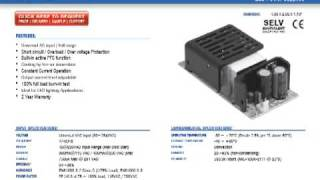 PLP-60 Mean Well LED Power Supplies