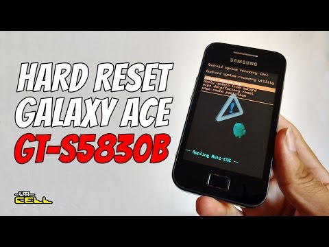 Hard Reset no Samsung Galaxy Ace (GT-S5830B) #UTICell
