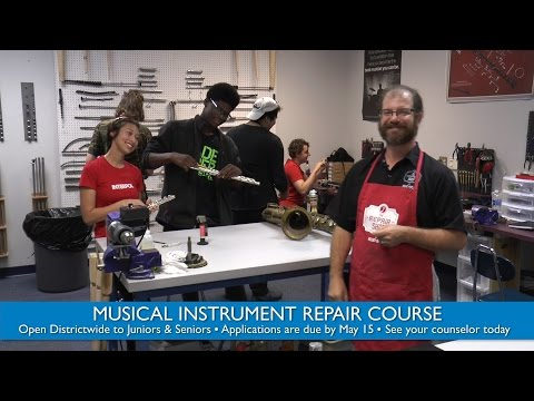 Musical Instrument Repair Course - Apply by May 15