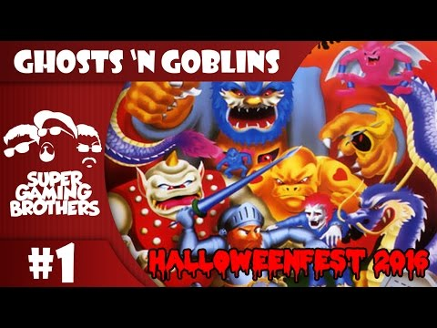 SGB Play: Ghosts 'N Goblins - Part 1 | Balls Blue. Temper Red.
