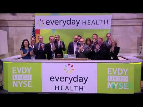 Everyday Health Highlights Recent IPO Launch at the NYSE