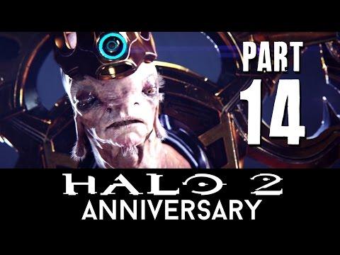 Halo 2 Anniversary Walkthrough Part 14 - GRAVEMIND (Mission 12) - 60fps