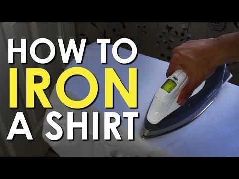How to Iron a Dress Shirt [VIDEO] | The Art of Manliness
