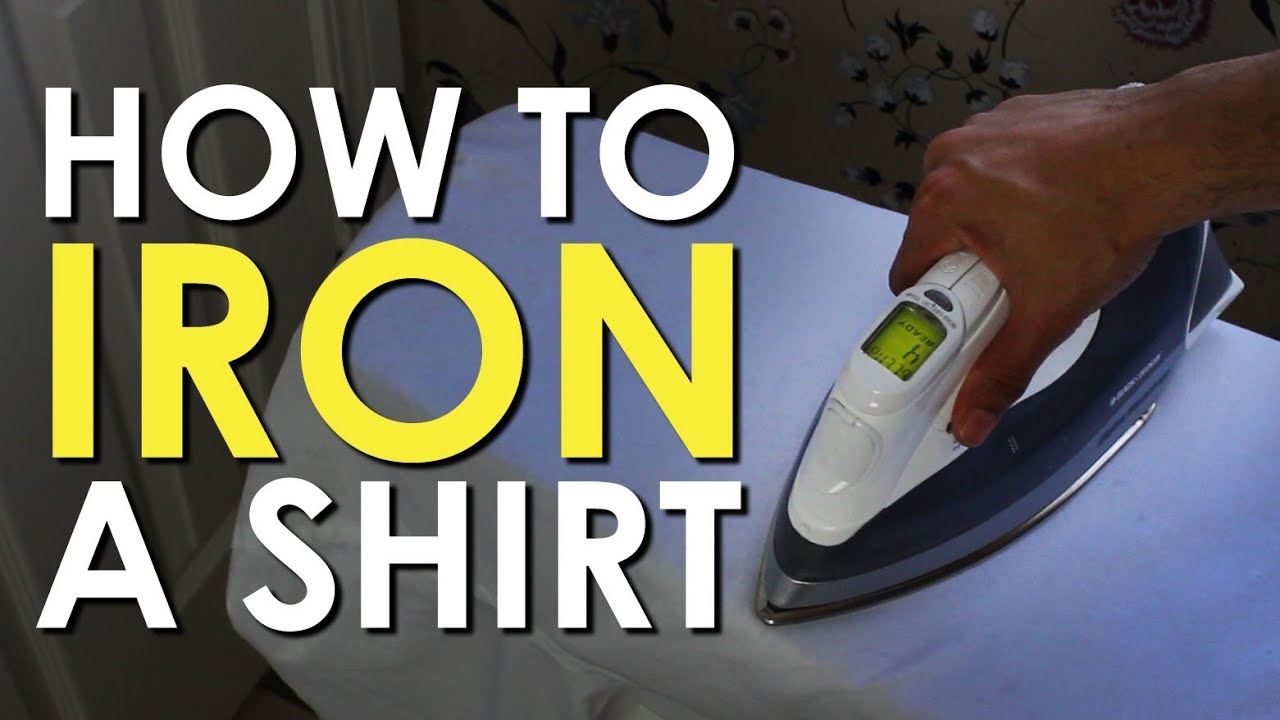 How to Iron a Dress Shirt | Art of Manliness
