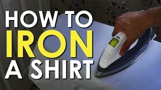 Gambar cover How to Iron a Dress Shirt | Art of Manliness