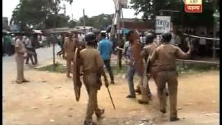 Clash between SFI and TMCP at surendranath college of Raiganj