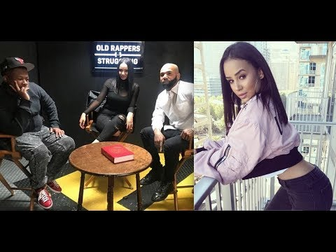 DJ Akademiks Talks to The Girl from the Migos Diss Video who is the Nadeska Alexis lookalike.