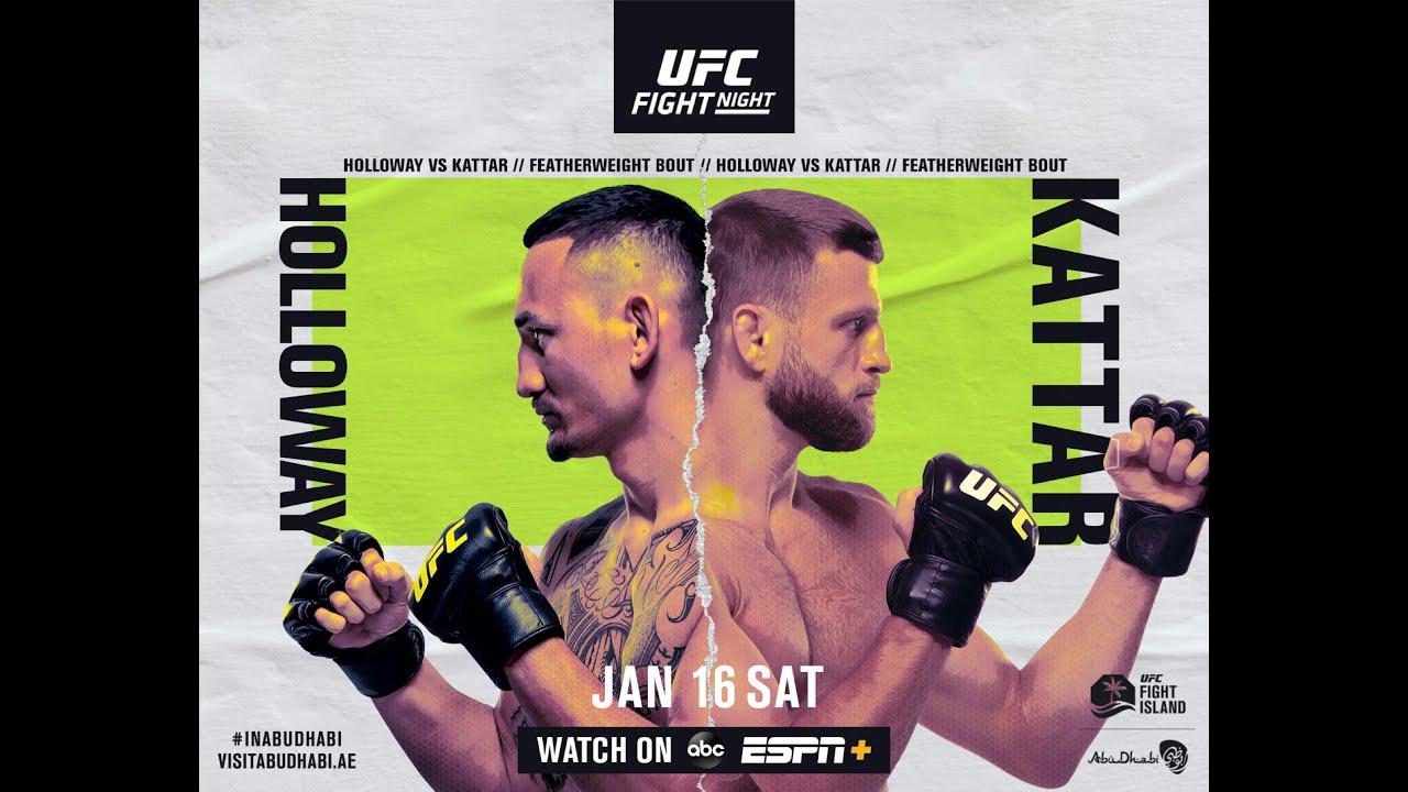 UFC on ABC: Max Holloway vs Calvin Kattar | Live Coverage - MMAWeekly.com