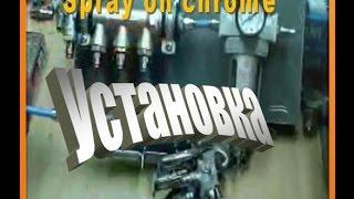 Оборудование для хромирования (серебрения), химическая металлизация.