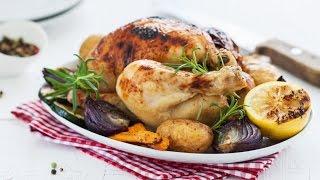 Любимые Рецепты. Курица с прованскими травами и овощами. Получается очень сочная!