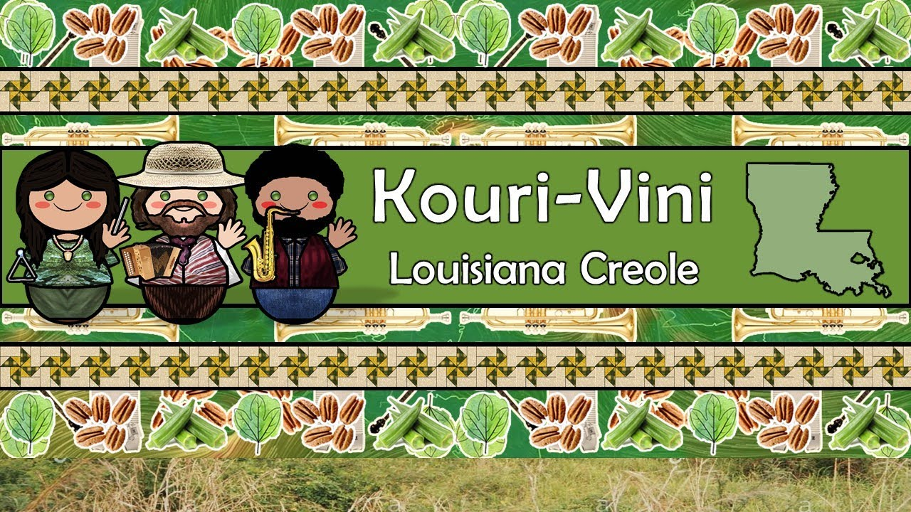 Download The Sound of the Kouri-Vini / Louisiana Creole language (Numbers, Greetings, Words & Sample Text)