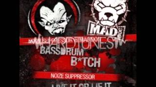 Noize Suppressor Vs Mad Dog - Bassdrum Bitch (Full HQ+HD)