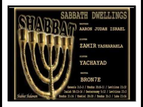 SABBATH DWELLINGS - Zamir feat. Aaron Judah Israel, Yachayad, Brotha Bron7e
