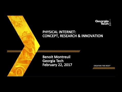 Physical Internet: Concept, Research, Innovation