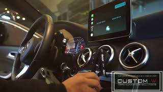 BENZ A200 CARPLAY CODING, 메르세데…