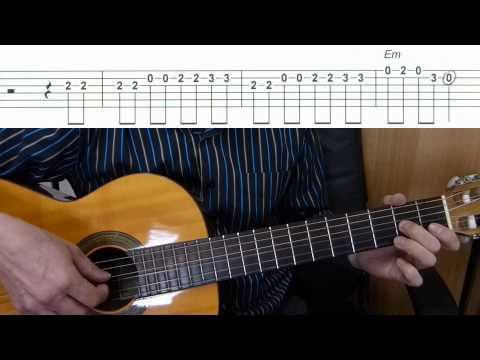 Marry You - Bruno Mars - Easy Guitar melody tutorial + TAB Guitar lesson