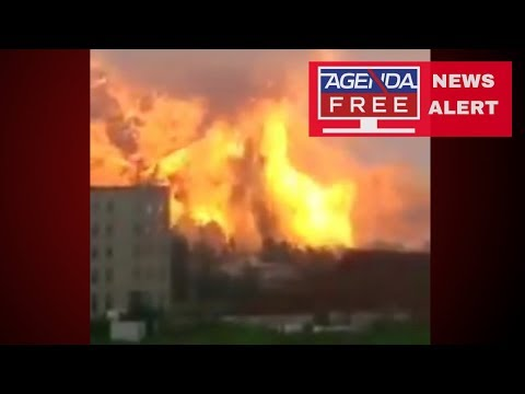 640 Injured in China Chemical Explosion - LIVE COVERAGE