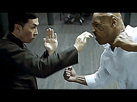 Behind the scenes of IP MAN 3 (Donnie Yen - Mike Tyson)