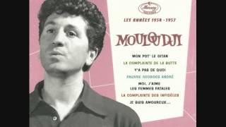 """Mouloudji """"Mon pote le gitan"""" (version inédite avec faux départ) mars 1955"""