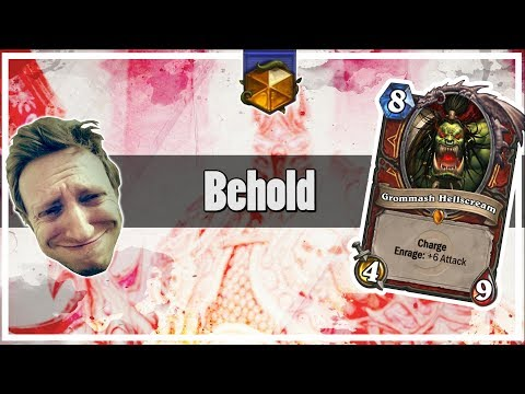 Hearthstone: Behold The Armies Of Grommash