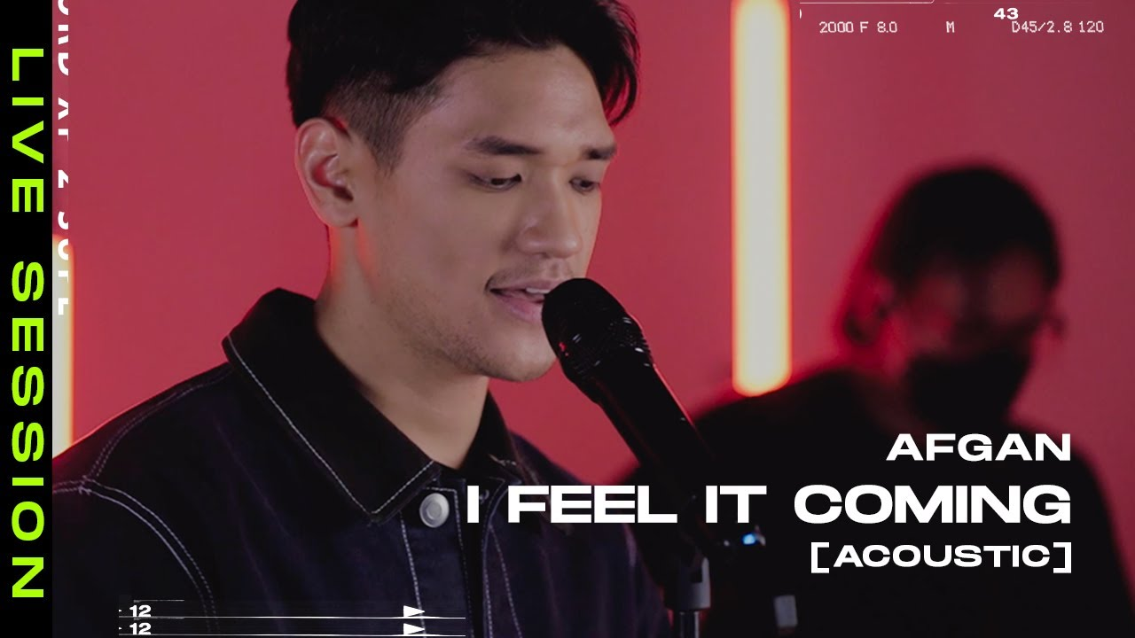 I Feel It Coming - The Weeknd [Acoustic Version] by Afgan